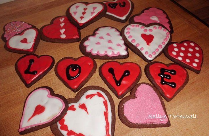 Sallys Blog - Nutellakekse - Liebeskekse zum Valentinstag