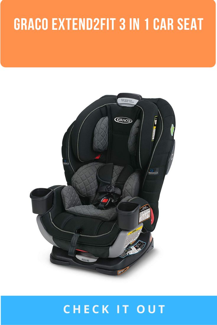Graco extend2fit 3 in 1 car seat ride rear facing longer