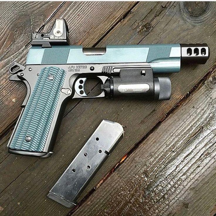 2,448 отметок «Нравится», 5 комментариев — Uniqueweapons (@uniqueweapons) в Instagram: «Custom @jessejamesfirearms 1911 »