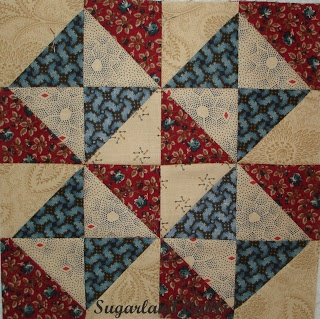 Port and Starboard - American Vintage Quilts: Civil War Quilt-a-long