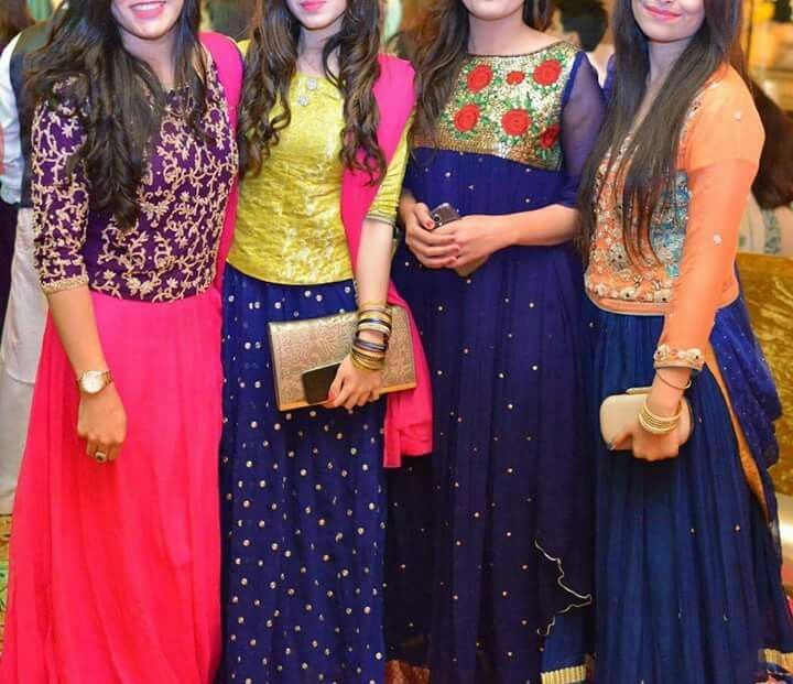 Dresses& colour combinations. .