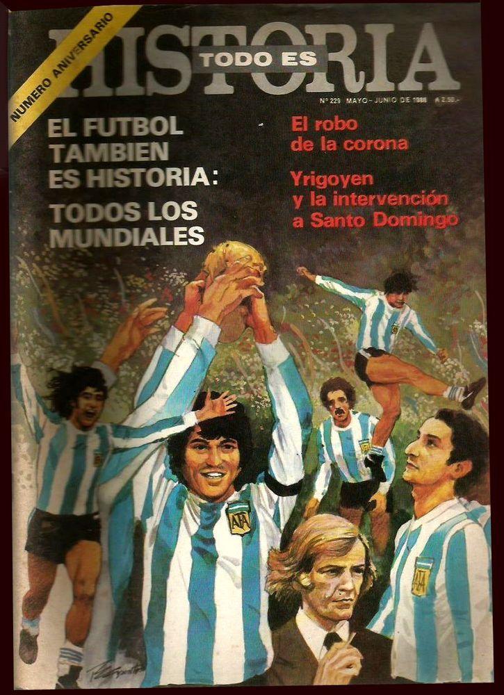 SOCCER WORLD CUPS 1930/1978 Special Historia # 229 Magazine Argentina   | eBay