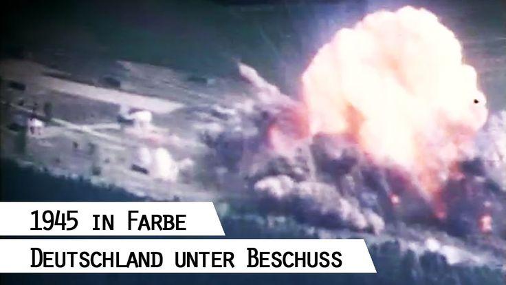 Fliegerangriffe auf Deutschland 1945- Filmaufnahmen