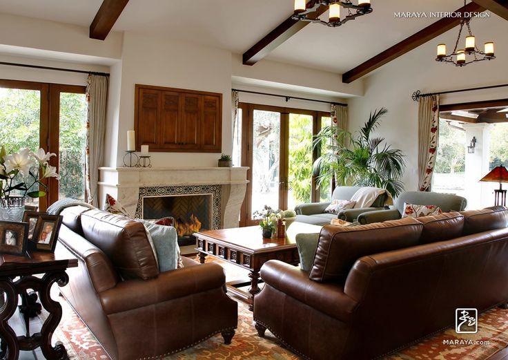 Living Room Spanish Villa Mediterranean Other Design