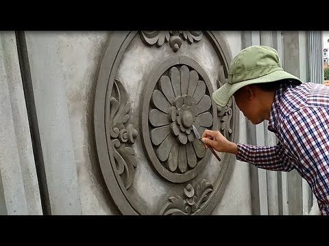 Youtube Beautiful Art Paintings Cement Art Concrete Wall