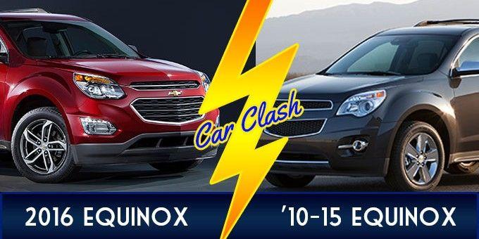2016 Chevy Equinox VS. 2010-2015 Chevy Equinox