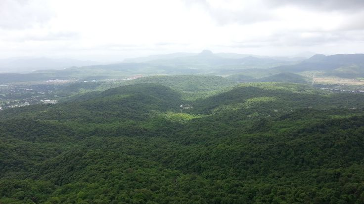 From the top....Karnala fort