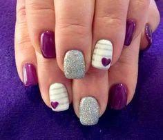 Espacio Kahilú: Decoración de uñas para san valentin / valentine d...