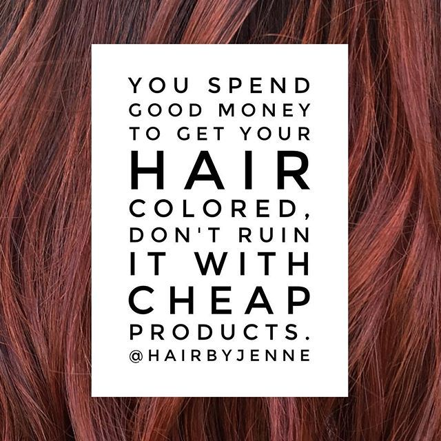 Whether you color your hair or not always use professional brand hair products and always sulfate free. ✂️Some of my favorites @sexyhair @kenraprofessional @lanzahaircare @chihaircare @schwarzkopfusa @bedheadbytigi to name a few. #HairByJennE #thebeautybar #conwayarkansas