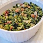So delicious with some sweet potato gnocci  I'm back in Jamaica  Jamaican Callaloo and Saltfish Recipe (video)