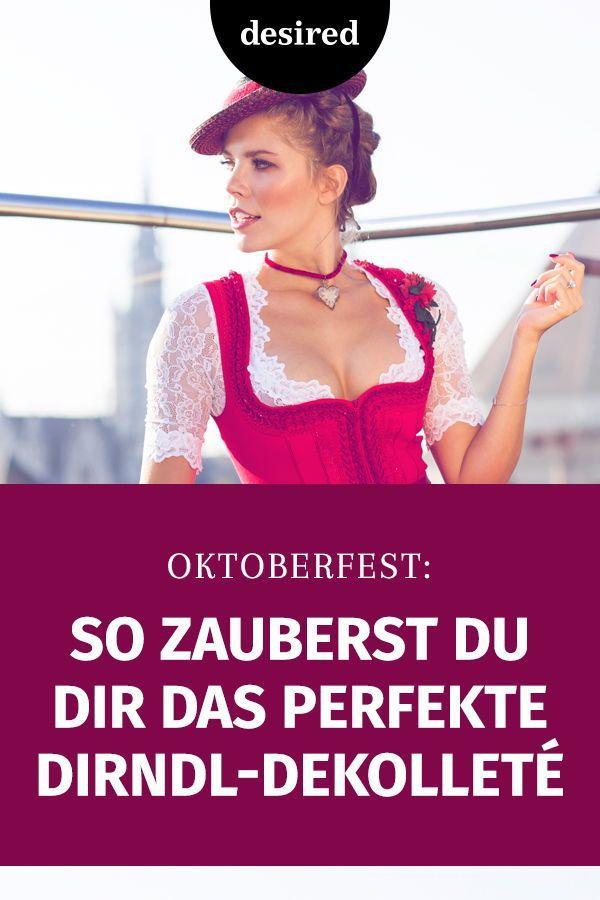 Oktoberfest: 8 Tricks für das perfekte Dirndl-Dekolleté