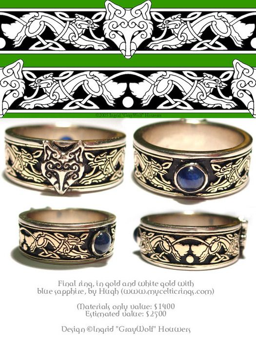 Celtic Fox Ring - Want!