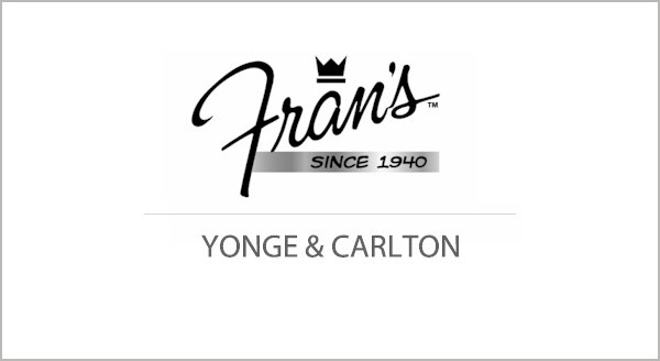 Fran's is known the city over as an iconic 24 hours a day! Fran's has a brilliant brunch offering at this Yonge and Carlton location and 2 others in downtown Toronto!   http://streets.to/assets/recent/fransoriginal.php