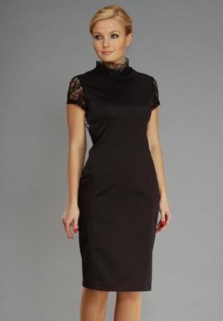Сшить маленького черное платье