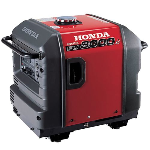 Honda Generator Eu3000is  Delivers 3 000 Watts Of Super