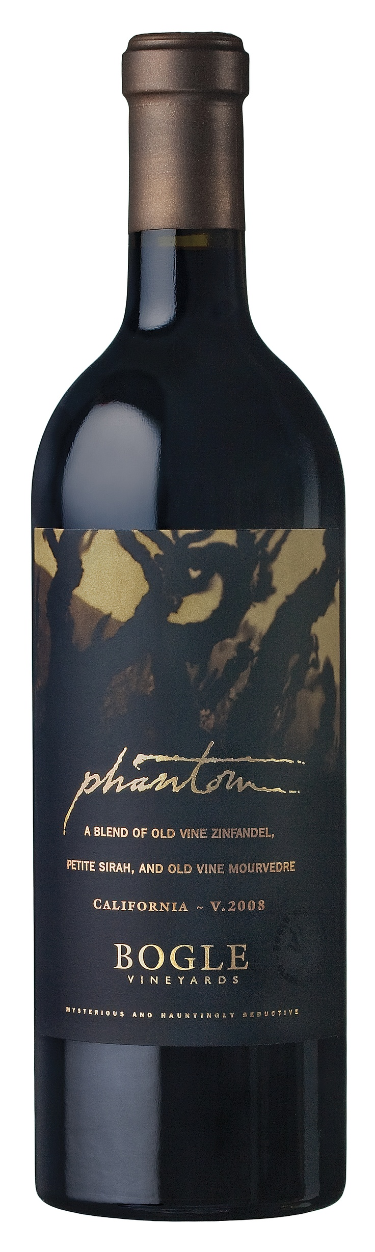 Bogle Phantom red wine - limited relaease. Made from Zinfandel, Petite Sirah and Mourvedre, flavor profile is luscious and intense. Available at Cost Plus - World Market