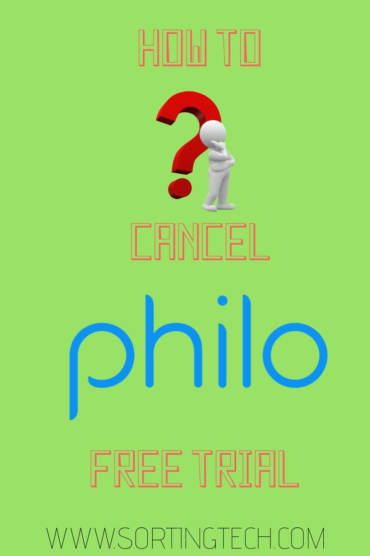 how to cancel philo subscription on roku