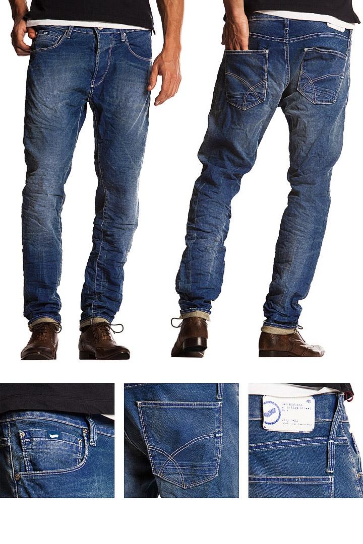 SS13 Men's Jeans. Fit: carrot Model: Raul