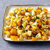 Butternut Squash and Yukon Gold Potatoes with Sage-Brown Butter~5 Points Plus Value