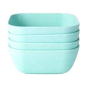 Matte Finish Bowls - Mint, Set of 4