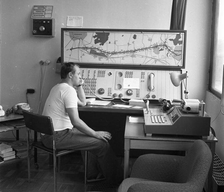Az M7-es autópálya felügyelősége, Székesfehérvár, 1978. (Az autópálya a mai székesfehérvári harmadik kihajtóig [Szekszárd] van megépítve, de a második kihajtó [Dunaújváros] még nem létezik!)
