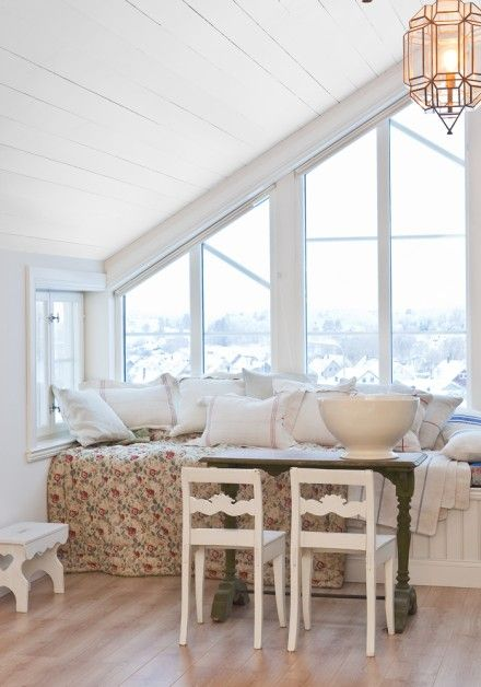 Wonderful White House in Gothenburg ~ Interiors and Design Less Ordinary