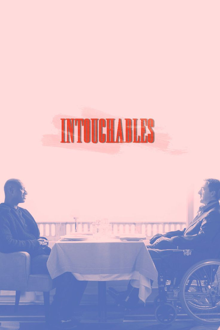 Intouchables movie poster remake by Anzelmute.deviantart.com on @DeviantArt