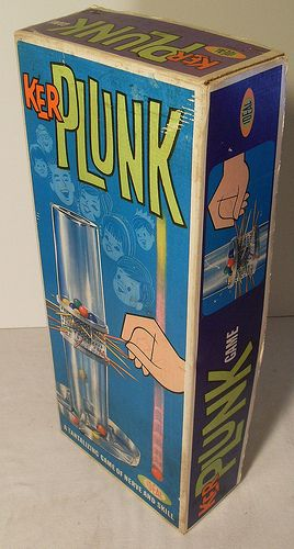 Vintage 1964 Ideal KERPLUNK Toy Game by Christian Montone, via Flickr