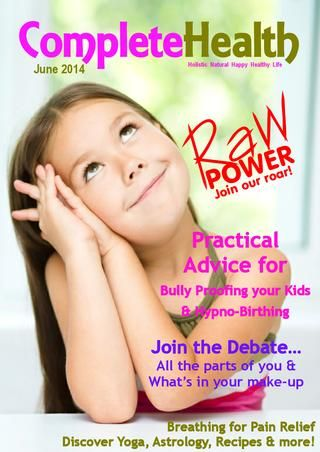 Read our article on Bully Proofing your Kids in the June 2014 issue of Complete health Magazine. #bullying