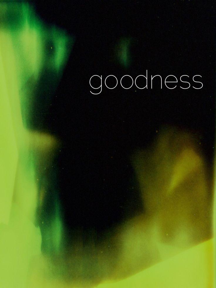 .goodness { fruit of the spirit series }