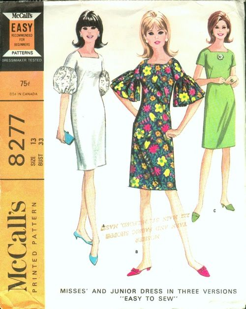On pinterest sewing patterns 1960s dresses and mccalls patterns