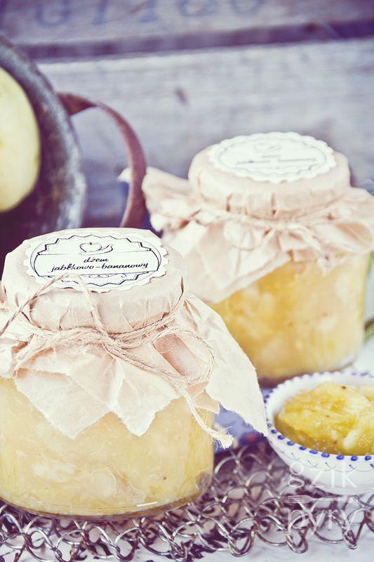Dżem jabłkowo-bananowy z goździkami