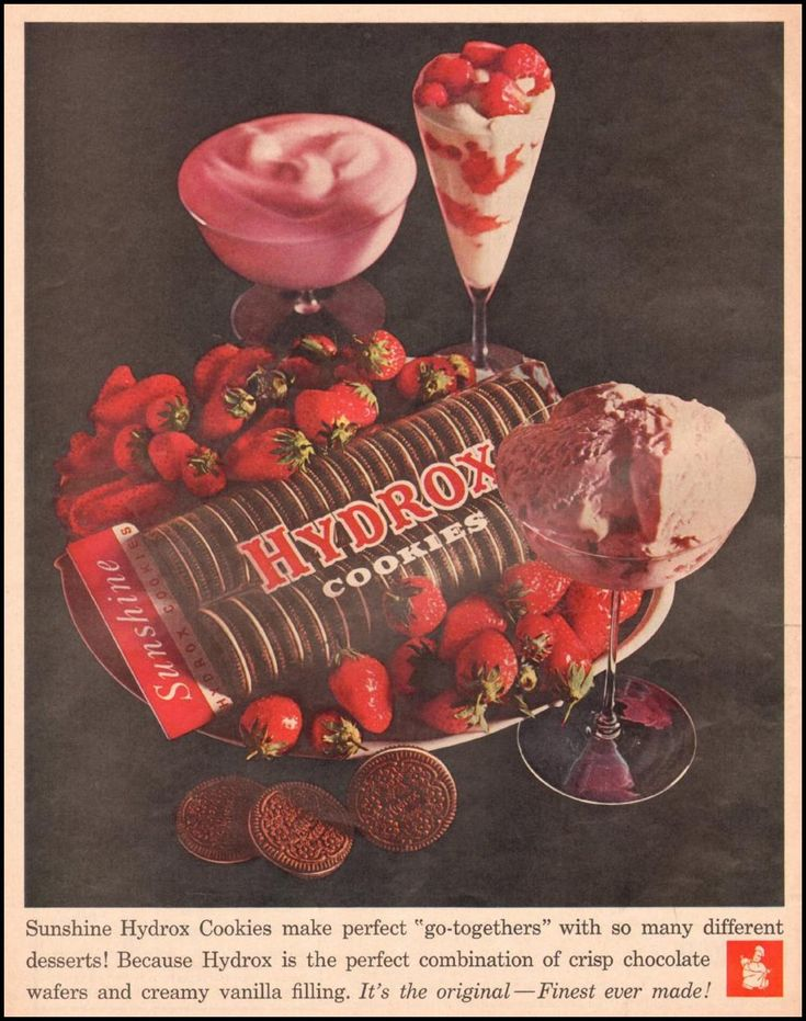 1961 Hydrox cookies ad... sounds apppetizing