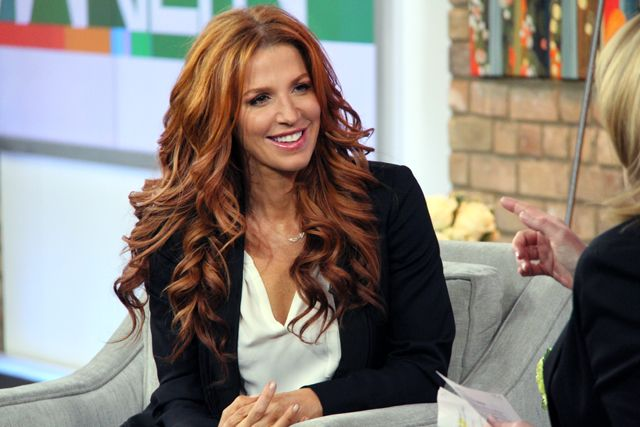 The Marilyn Denis Show | Poppy Montgomery | Unforgettable's Poppy Montgomery--pretty hair, red hair