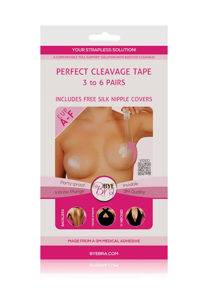 Showpo Bye Bra - Perfect Cleavage Tape in clear Body
