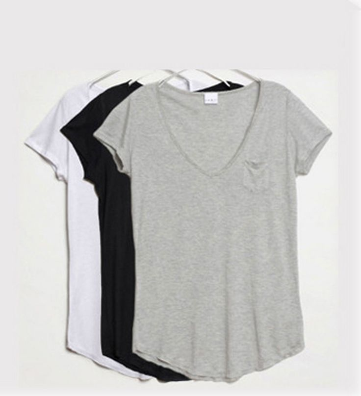 17 Best ideas about V Neck Tee on Pinterest | Fishbone braid ...