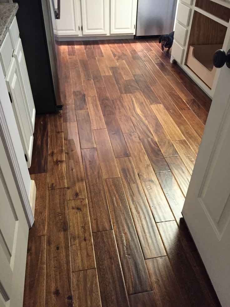 Solid Acacia Toffee In The Overbay Residence Wood Floor
