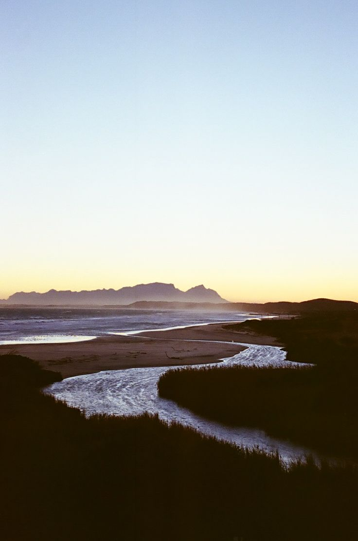 The Louwrens River mouth, Strand