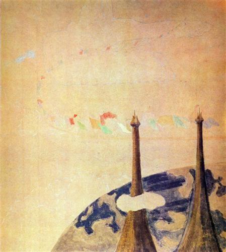 Finale (Sonata of the Spring)  - Mikalojus Ciurlionis