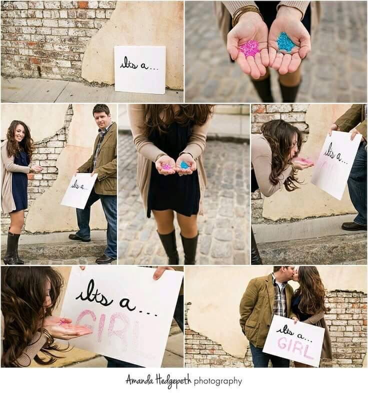 <3:-) personal favorite!! the CUTEST gender revealing ideas!!