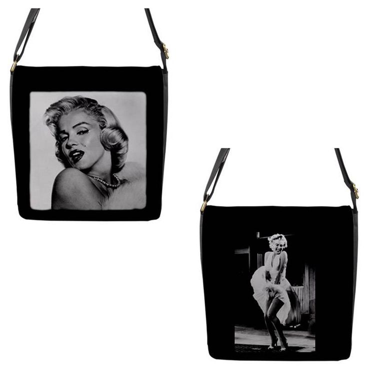 Marilyn Monroe Chameleon Removable Flap Shoulder Bag (Petite)