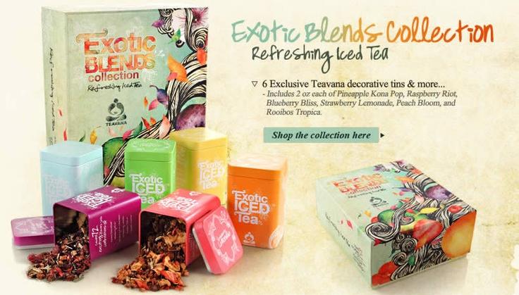 Teavana teas are the BEST!