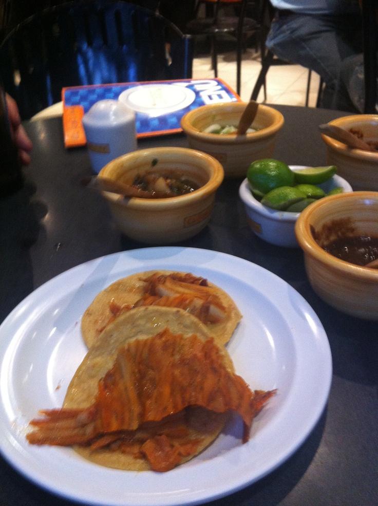 The best tacos ever at El Califa, Mexico City