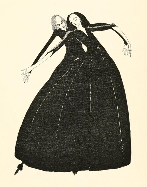 Harry Clarke illustration
