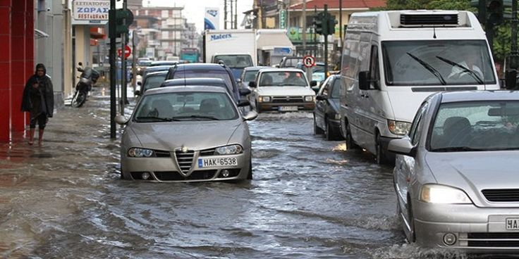 Δ. Ελλάδα: Έκτακτο δελτίο ΕΜΥ - Έρχονται καταιγίδες και χαλάζι από αύριο - Δείτε χάρτες!