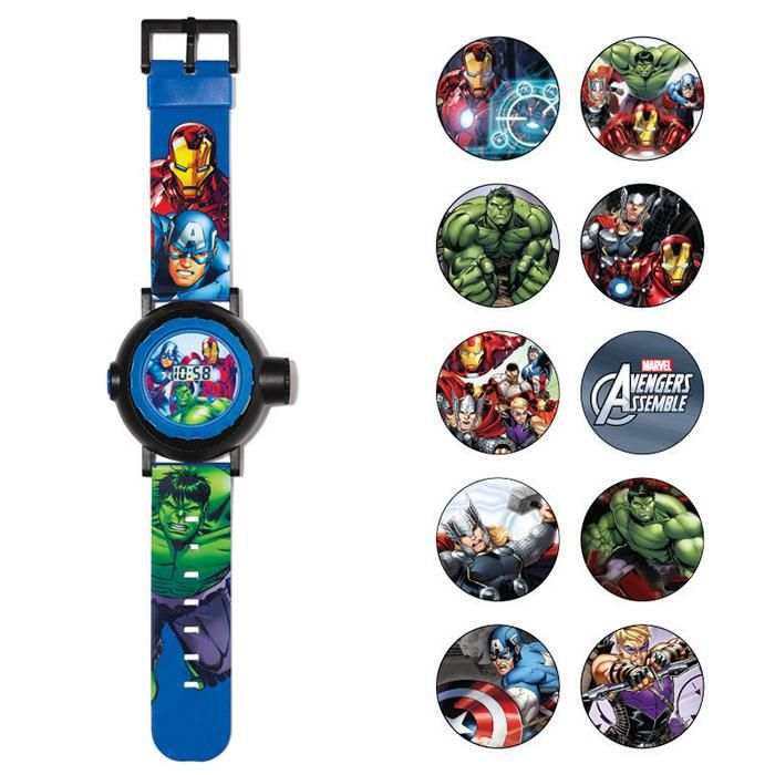 Marvel Avengers Projection Watch