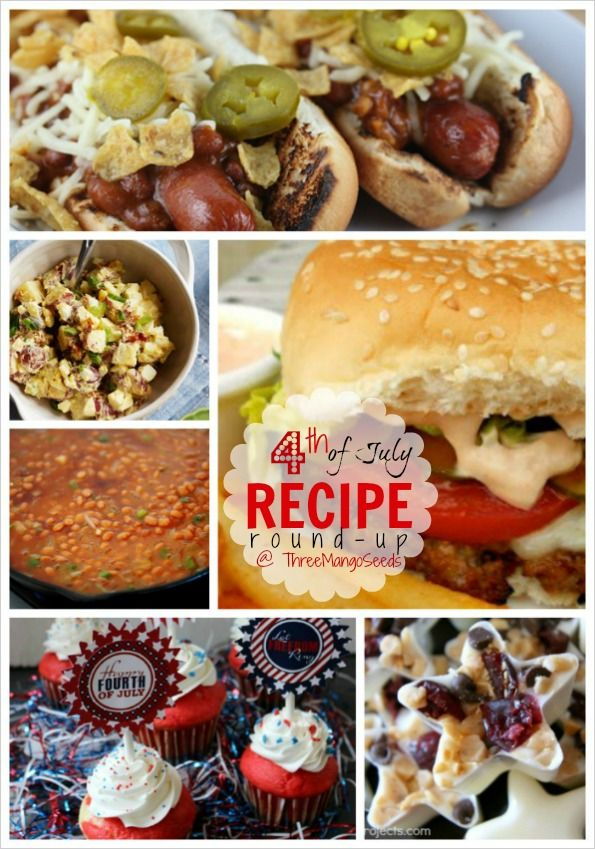 Fun recipe/food ideas for the 4th of July Three Mango Seeds: FOURTH OF JULY ROUND-UP!