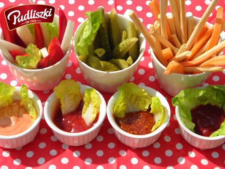 Dipy do warzyw. #pudliszki #przepis #dip #warzywa #sos