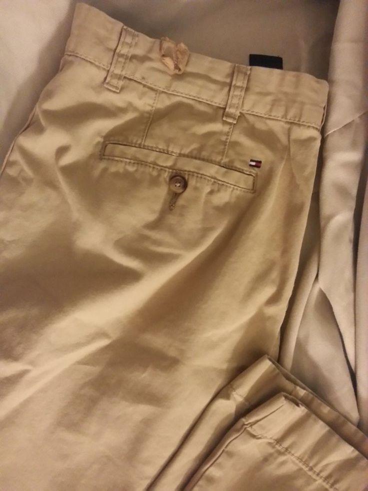 Check out Tommy Hilfiger men slim fit khakis size 38x32 #TommyHilfiger #KhakisChinos http://www.ebay.com/itm/-/262210911933?roken=cUgayN&soutkn=R45wM0 via @eBay