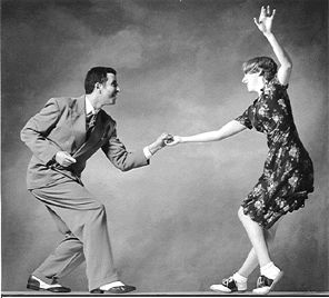 swing dancing - not necessarily a childhood memory, but it's a memory from the past. lots o fun!